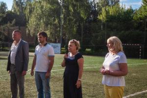 почетные гости Сокольники поддерживают сборную России